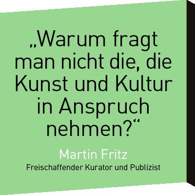 Zitat Martin Fritz