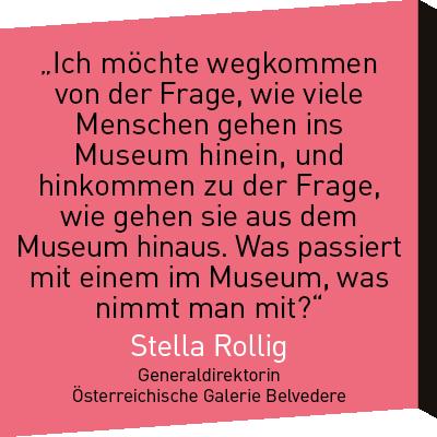 Zitat Stella Rollig