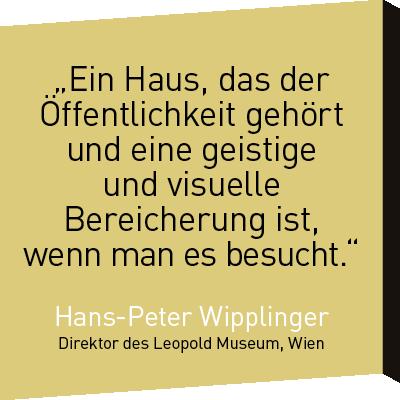 Zitat Hans-Peter Wipplinger